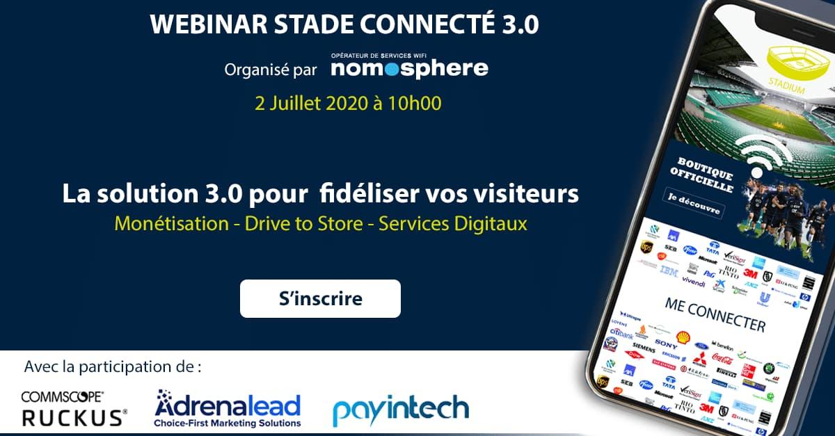 webinar stade connecte 3.0 nomosphere