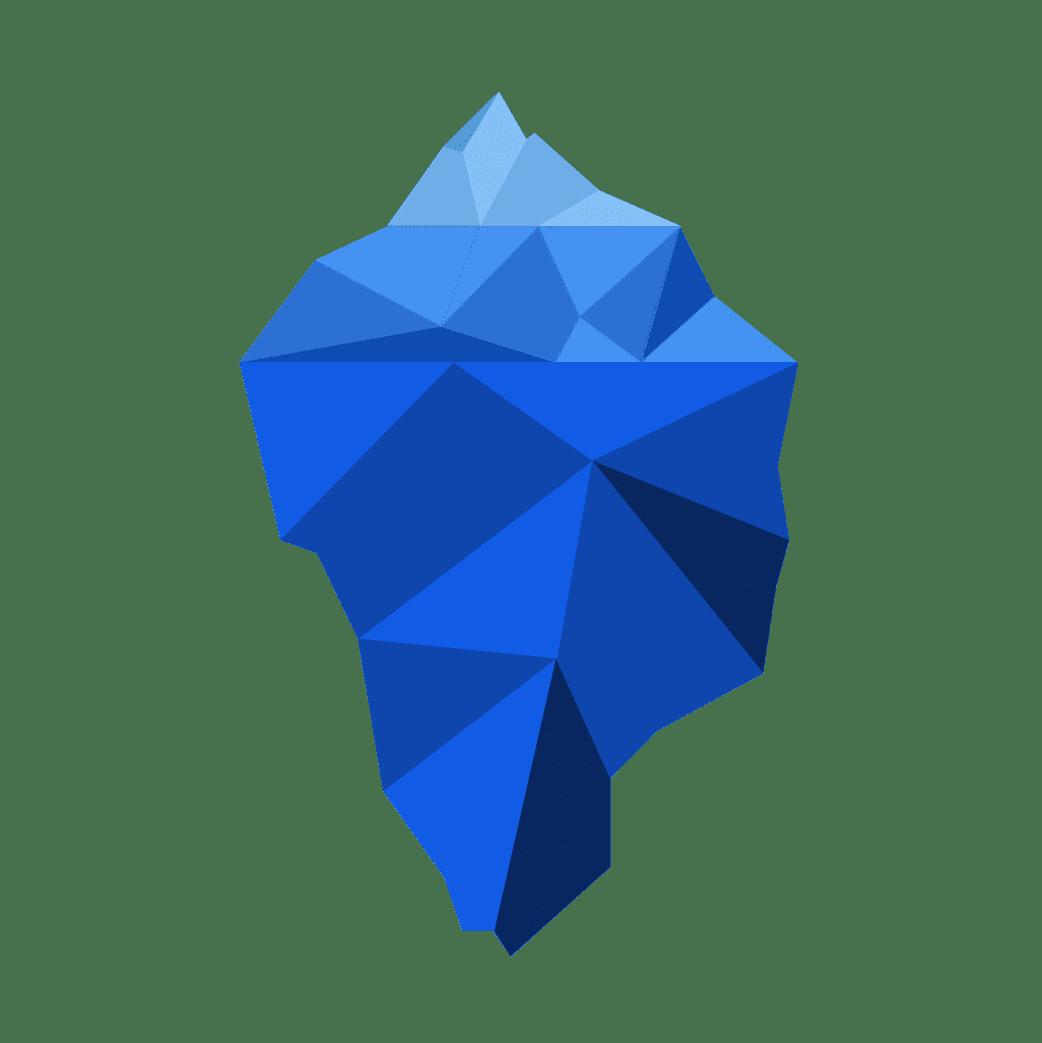 iceberg illsutration étape 3