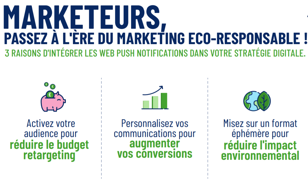 Green Marketing Web Push Notification