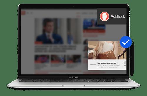 Adblock desktop web push