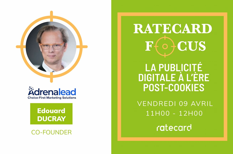ratecard focus Édouard ducray