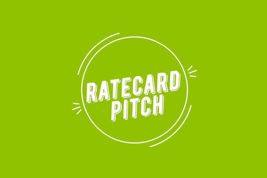 Ratecard Pitch Vidéo 2021
